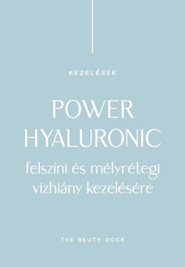 POWER HYALURONIC – FELSZÍNI ÉS MÉLYTÉREGI VÍZHIÁNY KEZELÉSÉRE